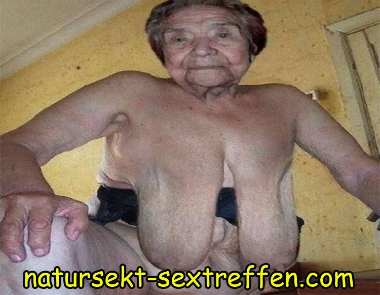 Oma steht auf Sex mit Natursekt