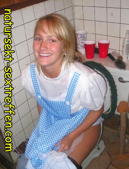Pipi Girl aus Bayern treffen