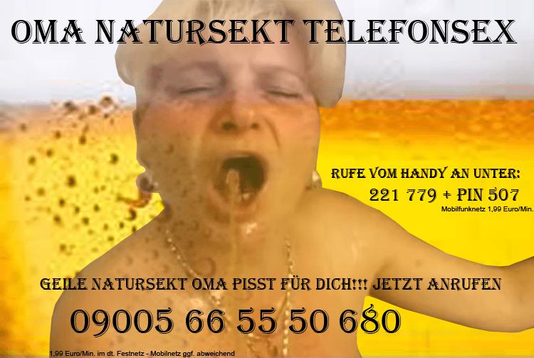 Natursekt Telefonsex Oma